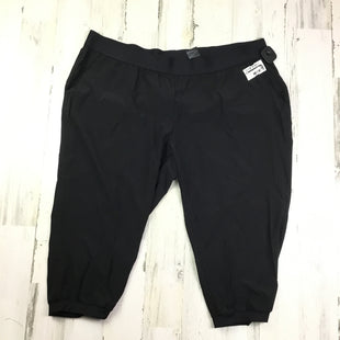 Primary Photo - BRAND: H&M STYLE: ATHLETIC CAPRIS COLOR: BLACK SIZE: 2X OTHER INFO: NWT SOLID SKU: 258-25873-35042