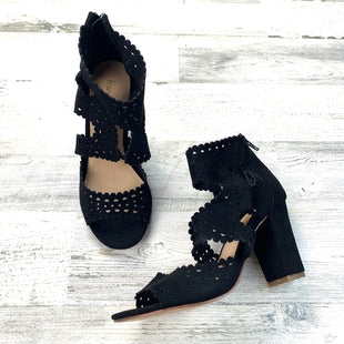 Primary Photo - BRAND: FRANCESCA'S STYLE: SHOES HIGH HEEL COLOR: BLACK SIZE: 6 OTHER INFO: PERFORATED PEEP TOE SKU: 258-25885-26499