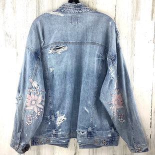 Primary Photo - BRAND: AMERICAN EAGLE STYLE: JACKET OUTDOOR COLOR: DENIM SIZE: L SKU: 258-258111-12255