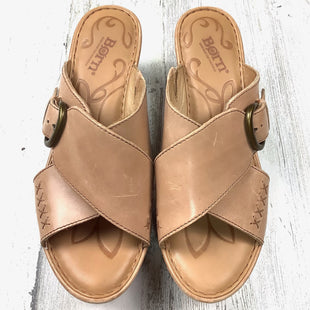Primary Photo - BRAND: BORN STYLE: SANDALS LOW COLOR: BROWN SIZE: 8 SKU: 258-25885-32258