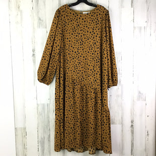 Primary Photo - BRAND: HAYDEN LA STYLE: DRESS LONG LONG SLEEVE COLOR: CAMEL SIZE: L OTHER INFO: NWT RT$40 SPOTTED SKU: 258-25873-35653