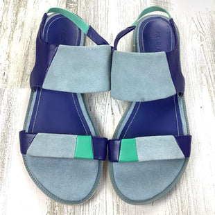 Primary Photo - BRAND: KELSI DAGGER STYLE: SANDALS FLAT COLOR: BLUE SIZE: 6.5 SKU: 258-25885-29156