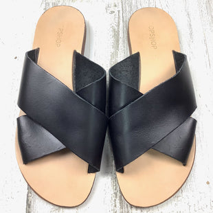 Primary Photo - BRAND: TOP SHOP STYLE: SANDALS FLAT COLOR: BLACK SIZE: 6.5 SKU: 258-258111-11337