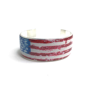 Primary Photo - BRAND: RUSTIC CUFF STYLE: BRACELET COLOR: RED WHITE BLUE OTHER INFO: I AMERICAN FLAG SKU: 258-25871-11191