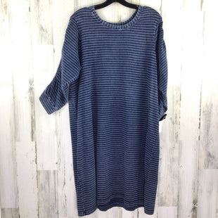 Primary Photo - BRAND:    JANE AND DELANCEYSTYLE: DRESS SHORT LONG SLEEVE COLOR: NAVY SIZE: 1X OTHER INFO: JANE AND DELANCEY SKU: 258-258113-10245