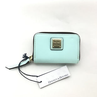 Primary Photo - BRAND: DOONEY AND BOURKE STYLE: WALLET COLOR: BABY BLUE SIZE: SMALL OTHER INFO: NEW! SKU: 258-25885-30407