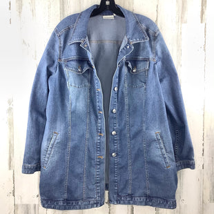 Primary Photo - BRAND: CHICOS STYLE: JACKET OUTDOOR COLOR: DENIM SIZE: XL SKU: 258-25873-38386