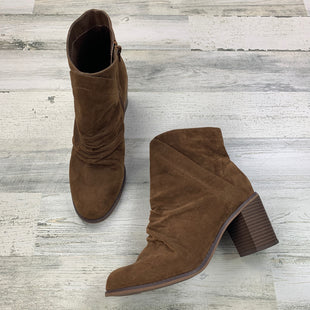 Primary Photo - BRAND: UNIVERSAL THREAD STYLE: BOOTS ANKLE COLOR: BROWN SIZE: 11 SKU: 258-258113-10315