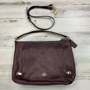 Primary Photo - BRAND: COACH STYLE: HANDBAG DESIGNER COLOR: BURGUNDY SIZE: MEDIUM OTHER INFO: SCOUT 2 WAY CROSSBODY SKU: 258-25871-11610