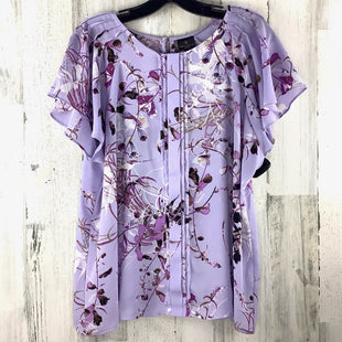 Primary Photo - BRAND: WORTHINGTON STYLE: TOP SHORT SLEEVE COLOR: LAVENDER SIZE: XL OTHER INFO: PETITE SKU: 258-258111-9540