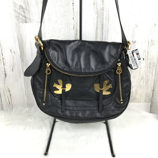 Primary Photo - BRAND: MARC BY MARC JACOBS STYLE: HANDBAG DESIGNER COLOR: BLACK SIZE: LARGE OTHER INFO: CROSSBODY PETAL TO THE METAL BIRD SKU: 258-25885-32078
