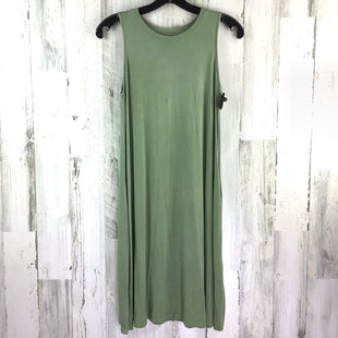 Primary Photo - BRAND: TIME AND TRU STYLE: DRESS SHORT SLEEVELESS COLOR: OLIVE SIZE: S SKU: 258-25898-13109