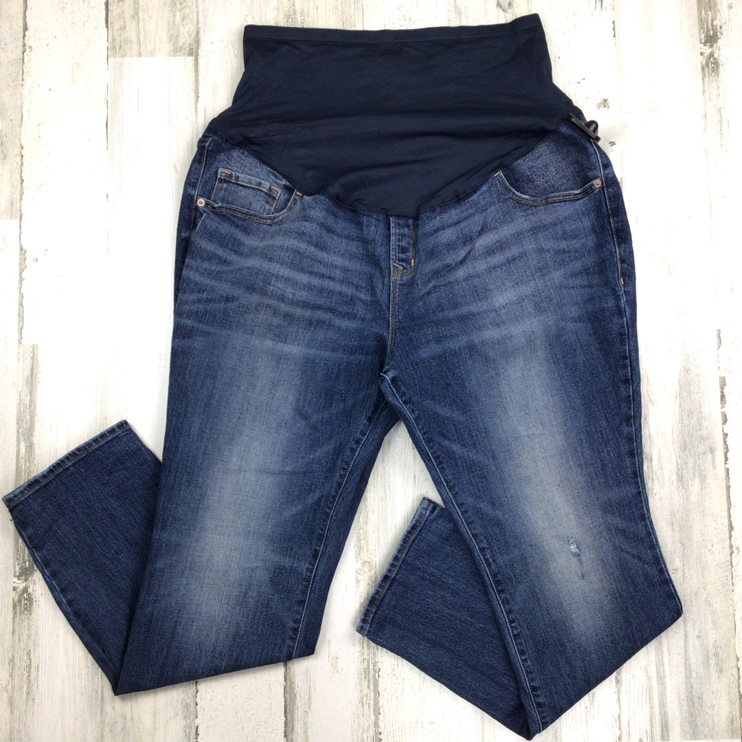 Primary Photo - BRAND: OLD NAVY <BR>STYLE: MATERNITY JEANS <BR>COLOR: DENIM <BR>SIZE: 1X <BR>SKU: 258-25885-32885