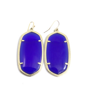 Primary Photo - BRAND: KENDRA SCOTT JEWLERY STYLE: EARRINGS COLOR: BLUE OTHER INFO: C19   DANIELLE COBALT SKU: 258-258113-10103