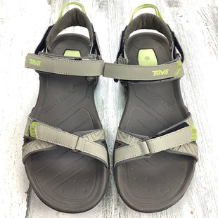 Primary Photo - BRAND: TEVA STYLE: SANDALS FLAT COLOR: GREY SIZE: 8 SKU: 258-25873-38418