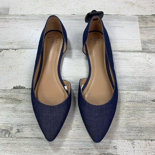 Primary Photo - BRAND: A NEW DAY STYLE: SHOES FLATS COLOR: BLUE SIZE: 8 OTHER INFO: SOLID DENIM LIKE W/POINTED TOE SKU: 258-258113-3500
