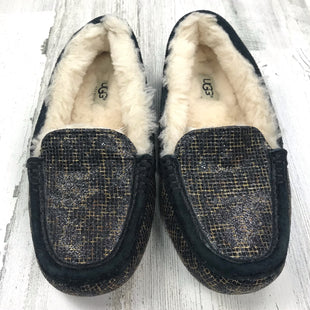 Primary Photo - BRAND: UGG STYLE: SLIPPERS COLOR: BLACK SIZE: 6 OTHER INFO: ANSLEY SHEARLING SLIP ON SKU: 258-25871-8057