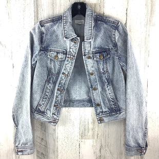 Primary Photo - BRAND: MAISON JULES STYLE: JACKET OUTDOOR COLOR: DENIM SIZE: XS OTHER INFO: ACID WASH SKU: 258-25873-37308