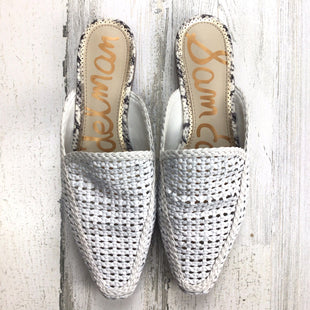 Primary Photo - BRAND: SAM EDELMAN STYLE: SHOES FLATS COLOR: WHITE SIZE: 8. OTHER: *BS*SKU: 258-258113-11854.