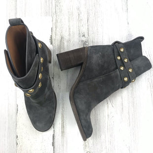 Primary Photo - BRAND: SEE BY CHLOE STYLE: BOOTS ANKLE COLOR: GREY SIZE: 6.5 OTHER INFO: JANIS SUEDE SKU: 258-258111-10484