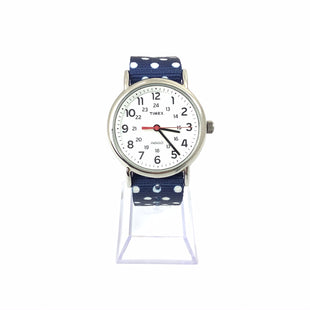 Primary Photo - BRAND:    CLOTHES MENTOR STYLE: WATCH COLOR: NAVY OTHER INFO: 9 TIMEX POLKA DOTTED SKU: 258-258111-7854