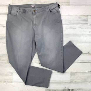 Primary Photo - BRAND: COLDWATER CREEK STYLE: JEANS COLOR: GREY SIZE: 20 SKU: 258-258113-5432