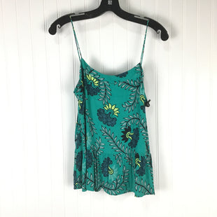 Primary Photo - BRAND: LOFT STYLE: TANK TOP COLOR: GREEN SIZE: S OTHER INFO: FLORAL SKU: 258-258100-3150