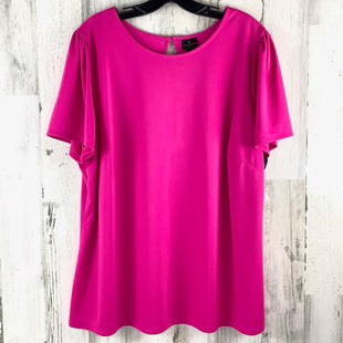 Primary Photo - BRAND: WORTHINGTON STYLE: TOP SHORT SLEEVE COLOR: PINK SIZE: 2X SKU: 258-258111-11511