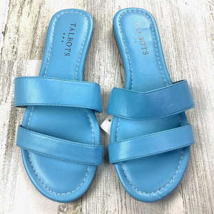 Primary Photo - BRAND: TALBOTS O STYLE: SANDALS FLAT COLOR: BLUE SIZE: 6 SKU: 258-25885-30856