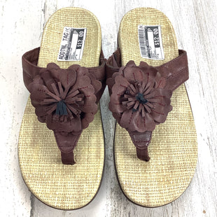 Primary Photo - BRAND: ORTHAHEELSTYLE: SANDALS FLAT COLOR: BROWN SIZE: 8 OTHER INFO: ORTHAHEEL SKU: 258-258113-11988