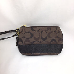 Primary Photo - BRAND: COACH STYLE: WRISTLET COLOR: BROWN SKU: 258-258113-4510