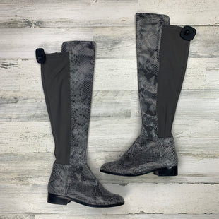 Primary Photo - BRAND: MICHAEL KORS COLLECTION STYLE: BOOTS KNEE COLOR: GREY SIZE: 6.5 OTHER INFO: AS IS SNAKESKIN OVER THE KNEE SKU: 258-25877-15288