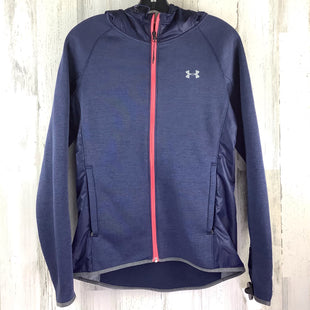 Primary Photo - BRAND: UNDER ARMOUR STYLE: ATHLETIC JACKET COLOR: BLUE SIZE: XS SKU: 258-25885-33621