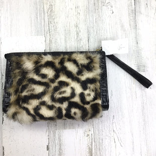 Primary Photo - BRAND: BRAHMIN STYLE: CLUTCH COLOR: ANIMAL PRINT OTHER INFO: ANIMAL FUR AS IS SKU: 258-258111-7335