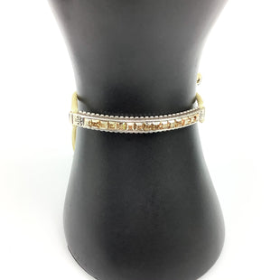 Primary Photo - BRAND: BRIGHTON O STYLE: BRACELET COLOR: CREAM OTHER INFO: GOLD DETAIL W/ PULL CLASP SKU: 258-25877-17865