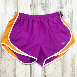 Primary Photo - BRAND: NIKE APPAREL STYLE: ATHLETIC SHORTS COLOR: PURPLE SIZE: M SKU: 258-25871-12526