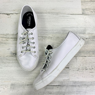 Primary Photo - BRAND: SPERRY STYLE: SHOES FLATS COLOR: WHITE SIZE: 9.5 SKU: 258-258111-8393