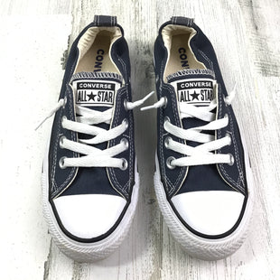Primary Photo - BRAND: CONVERSE STYLE: SHOES FLATS COLOR: NAVY SIZE: 6 OTHER INFO: SNEAKER W/ CINCHED ANKLE SKU: 258-25877-16603