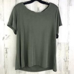 Primary Photo - BRAND: A NEW DAY STYLE: TOP SHORT SLEEVE BASIC COLOR: OLIVE SIZE: L OTHER INFO: SOLID SKU: 258-25877-16018