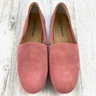 Primary Photo - BRAND: LUCKY BRAND STYLE: SHOES FLATS COLOR: PINK SIZE: 8 SKU: 258-25873-39001