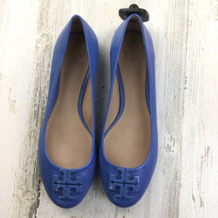 Primary Photo - BRAND: TORY BURCH STYLE: SHOES FLATS COLOR: BLUE SIZE: 8 OTHER INFO: CHAMBRAY LOWELL FLATS SKU: 258-25873-39003