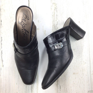 Primary Photo - BRAND: BRIGHTON O STYLE: SHOES LOW HEEL COLOR: BLACK SIZE: 8 OTHER INFO: MULES SKU: 258-25871-13429