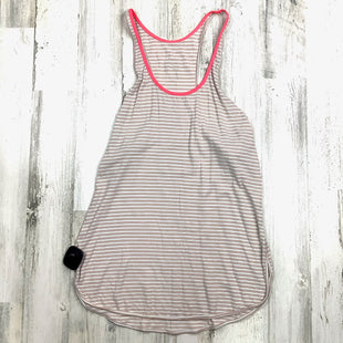 Primary Photo - BRAND: LULULEMON STYLE: ATHLETIC TANK TOP COLOR: NUDE SIZE: S OTHER INFO: STRIPED SKU: 258-25871-11959
