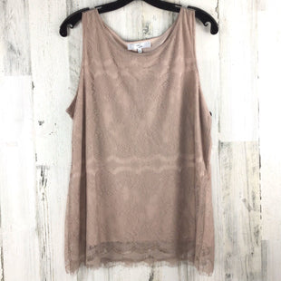 Primary Photo - BRAND:    CLOTHES MENTOR STYLE: TOP SLEEVELESS COLOR: NUDE SIZE: 1X SKU: 258-258113-6087