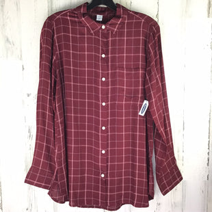 Primary Photo - BRAND: OLD NAVY STYLE: TOP LONG SLEEVE COLOR: BURGUNDY SIZE: M OTHER INFO: NWT SKU: 258-258111-3891