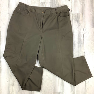 Primary Photo - BRAND: RUBY RD STYLE: PANTS COLOR: BROWN SIZE: 20 SKU: 258-258111-4469
