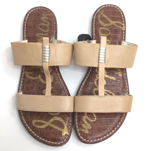 Primary Photo - BRAND: SAM EDELMAN STYLE: SANDALS LOW COLOR: TAN SIZE: 9.5 SKU: 258-258113-8288