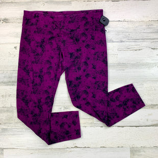 Primary Photo - BRAND: CALVIN KLEIN PERFORMANCE STYLE: ATHLETIC CAPRIS COLOR: PURPLE SIZE: XL SKU: 258-258113-6795