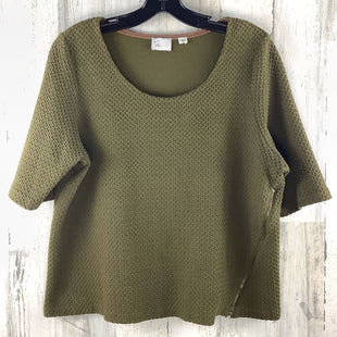Primary Photo - BRAND: ANTHROPOLOGIE STYLE: TOP SHORT SLEEVE COLOR: OLIVE SIZE: XL SKU: 258-258111-10158