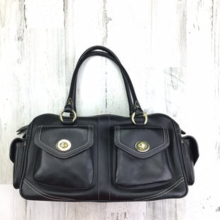 Primary Photo - BRAND:  COACHSTYLE: HANDBAG COLOR: BLACK SIZE: MEDIUM OTHER INFO: COACH BARGIN AS IS SKU: 258-25871-11390
